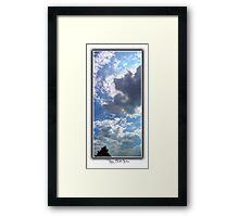 ©HCS Cloudscape Vertical II Framed Print