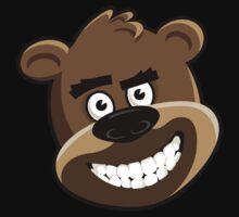 Bear Your Art  - Grinning bear by BearYourArt