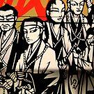 iPhone Case - Manga Warriors by fenjay