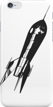 IPhone Case - Rocketeering by fenjay