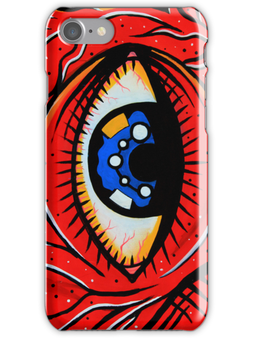 iPhone Case - The Eye by fenjay
