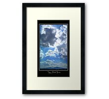 ©HCS Cloudscape Vertical Framed Print