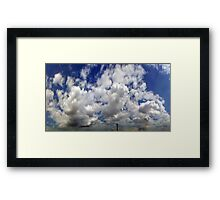 ©HCS Cloud Scape Tower 052013 Framed Print