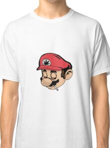 Mario Weed Shirt or Stickers Classic T-Shirt