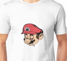 Mario Weed Shirt or Stickers Unisex T-Shirt