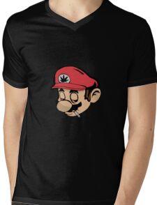 Mario Weed Shirt or Stickers Mens V-Neck T-Shirt