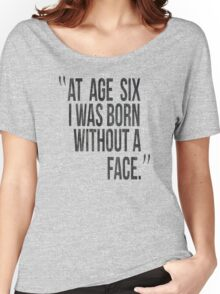 Game Grumps Born Without Face Women's Relaxed Fit T-Shirt