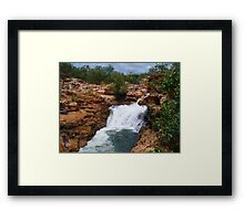 Mountain Rush Framed Print