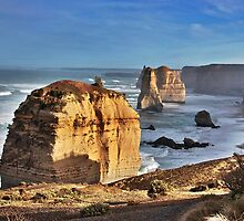 Twelve Apostles in morning light, Victoria, Australia by Ferenghi