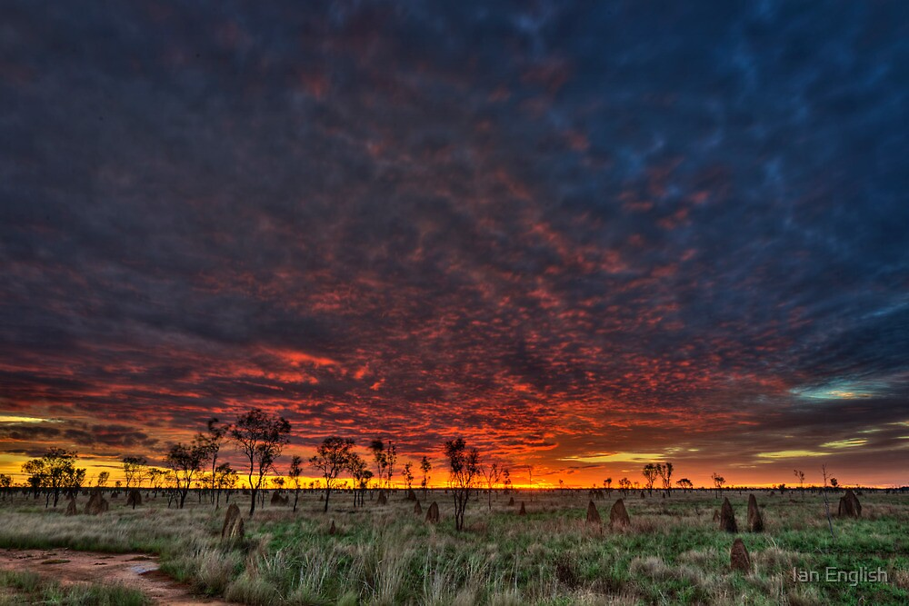 Big Sky Country - Kimberley WA by Ian English