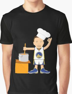 Chef Curry Widda Pot Boi! Graphic T-Shirt