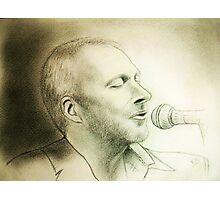 my B-day Colin portrait :) Photographic Print