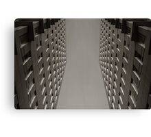 Office Symmetry Canvas Print