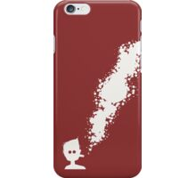 A visible suspension of particles. iPhone Case/Skin