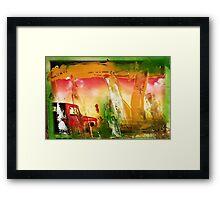 hj1030 Framed Print