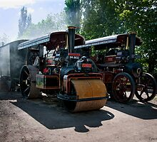 Steam Traction by Aggpup