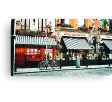 Badbobs Temple Bar in Ireland Canvas Print