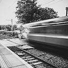 Sydney Parade Train Station by Alessio Michelini