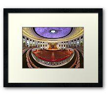 Multipanorama | Main Auditorium Framed Print