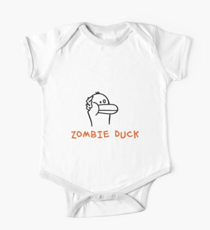 Zombie Duck One Piece - Short Sleeve