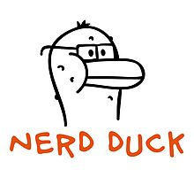 Nerd Duck by chrisbears