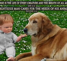 (✿◠‿◠) IN HIS HANDS.THE LOVE OF A DOG.. WITH (BIBLICAL SCRIPTURE) (✿◠‿◠) by ╰⊰✿ℒᵒᶹᵉ Bonita✿⊱╮ Lalonde✿⊱╮