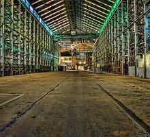 Abandoned Warehouse by Chris Brunton