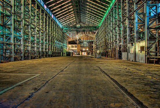 Abandoned Warehouse by Chris Brunton