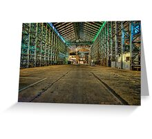 Abandoned Warehouse Greeting Card