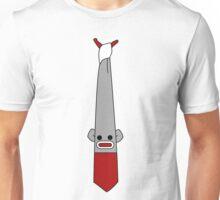 Sock Monkey Tie- Shirt Unisex T-Shirt