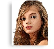 Face 16 Canvas Print