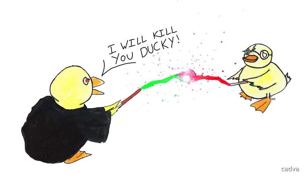 Epic Wizard Battle by cadva