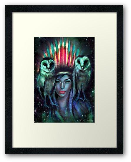 Owls by Slaveika Aladjova