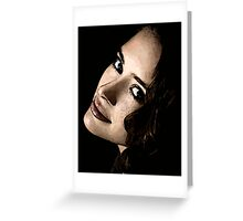 Face 19 Greeting Card