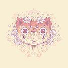 Cat flower by Randyotter
