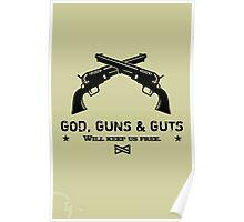 God, Guns & Guts VRS2 Poster