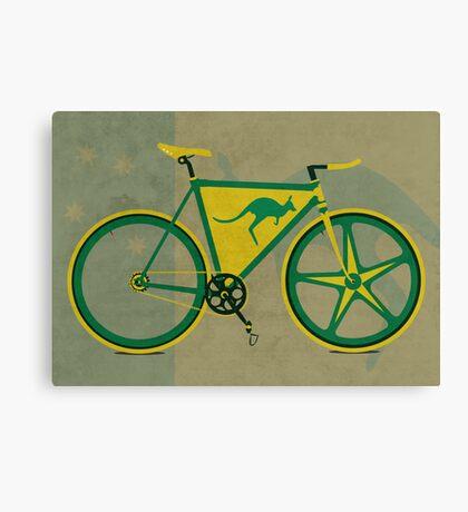 Australia Bike Canvas Print