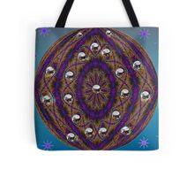 The Purple Planet Tote Bag