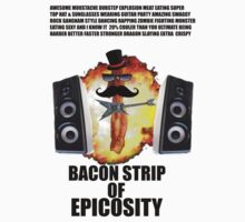bacon strip of epicosity by moustacheinc