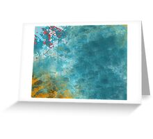 Ocean ripples Greeting Card