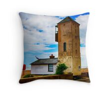 South Lookout Tower Aldeburgh Beach Throw Pillow
