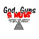God, Guns & Nuts VRS2 by vivendulies