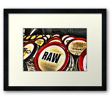 Roar of Raw (HDR) Framed Print