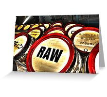 Roar of Raw (HDR) Greeting Card