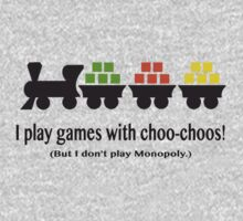 I play games with choo-choos! by MTSasnak