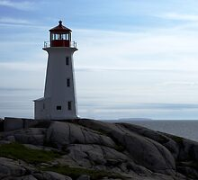Peggy's Cove Full View by Heather Eeles