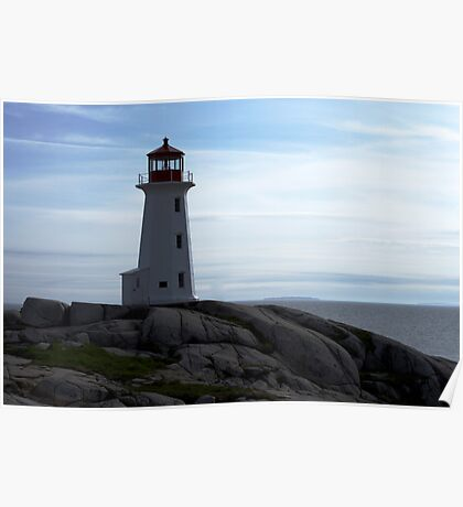 Peggy's Cove Full View Poster
