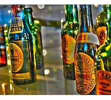 Nine Green Bottles Photographic Print