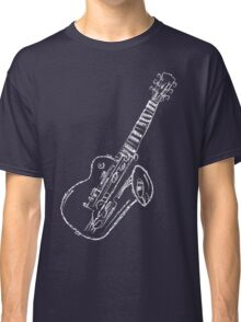 Abstract Music - White 45 Degrees Classic T-Shirt