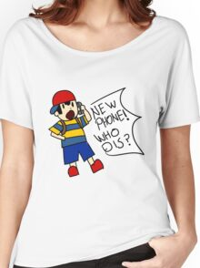 NEW PHONE WHO DIS? Women's Relaxed Fit T-Shirt